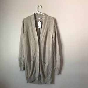Vince Button Down cardigan long sleeves & pockets